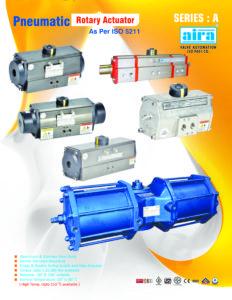 Pneumatic Actuator manufacturer in India