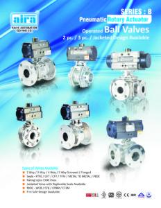 pneumatic ball valve in india