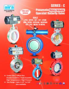 Pneumatic Butterfly Valve manufacturer
