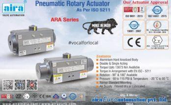 Pneumatic Rotary Actuator manufacturer
