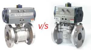 difference between plug valve and ball valve