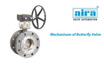 Mechanism of Butterfly Valve